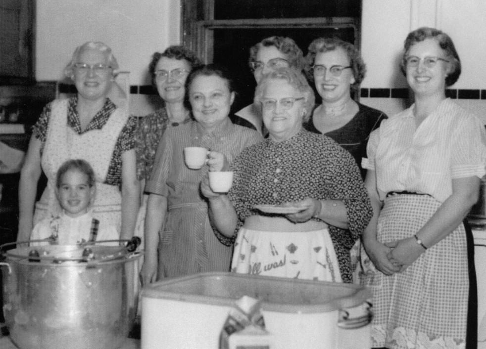 All Saints Episcopal Church - kitchen ladies