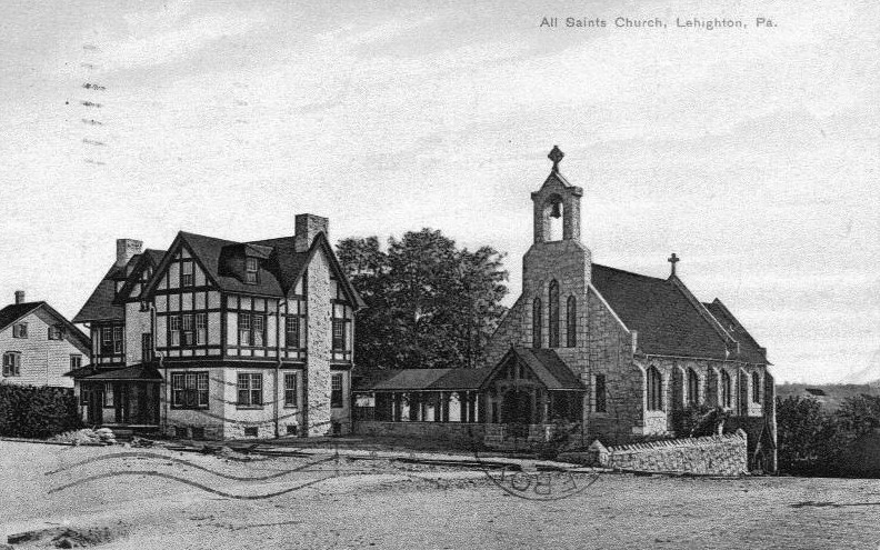 All Saints Episcopal Church - mailed 1908 front[1] (2)